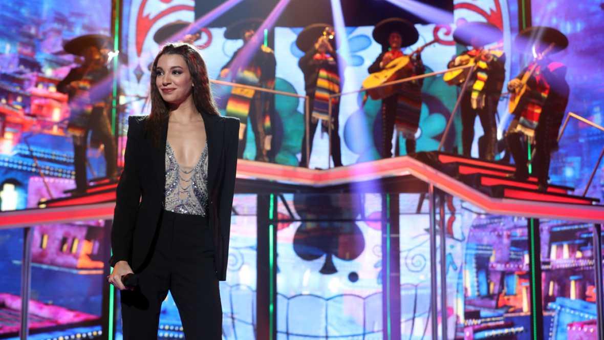 Ana Guerra canta 'La Bikina' en la Gala 5 de OT