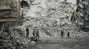 Los últimos hombres en Alepo