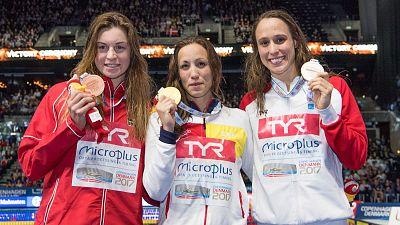 Jessica Vall, campeona de Europa de 200m braza