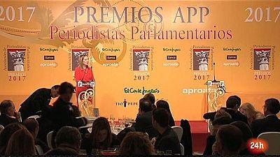 Parlamento - Conoce el parlamento - Premios de la Asociación de Periodistas Parlamentarios - 16/12/2017