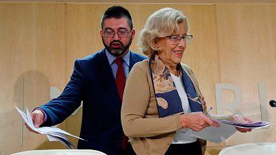 Carmena cesa al responsable de Economía tras negarse a respaldar el nuevo plan económico