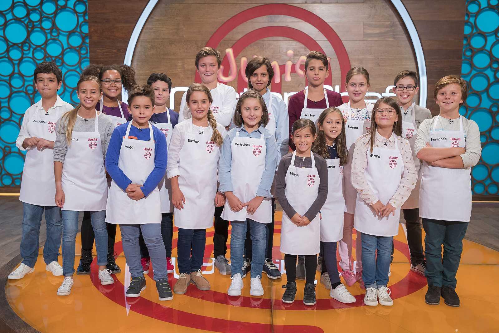MasterChef Junior 5 - Programa 1 Completo - RTVE.es