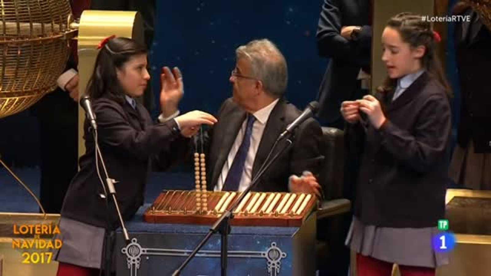 Lotería de Navidad 2017: 61.207, el segundo cuarto premio - RTVE.es