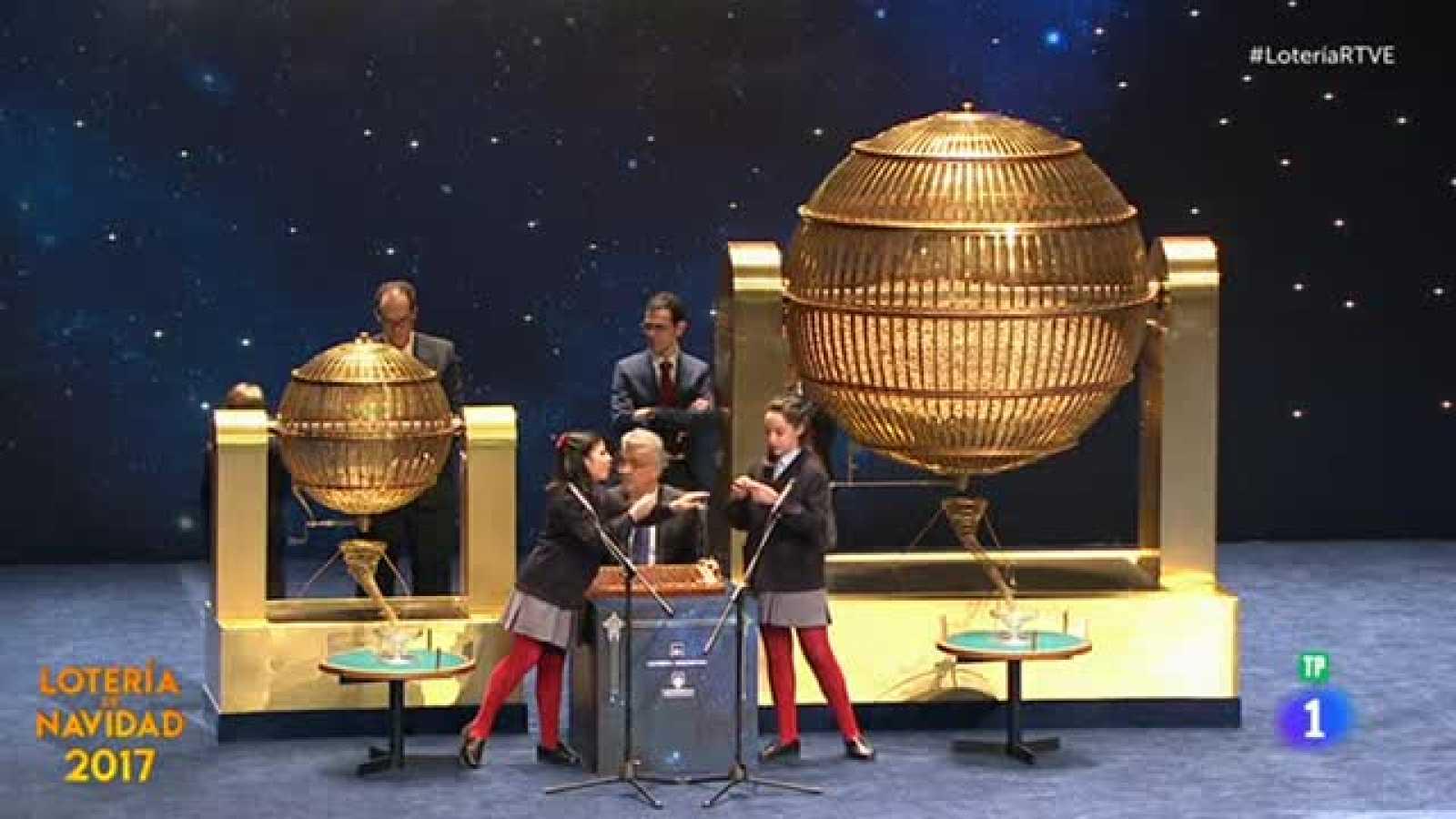 Lotería de Navidad 2017: 13.378, el primer cuarto premio - RTVE.es