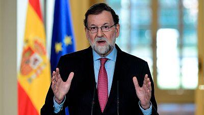 Rajoy anuncia que la sesión constitutiva del Parlament será el 17 de enero