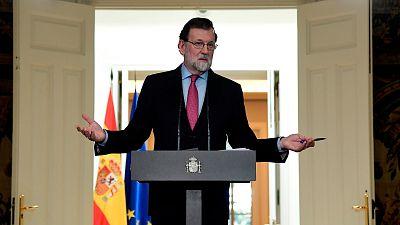 Rajoy anuncia la sesión constitutiva del Parlament para el 17 de enero