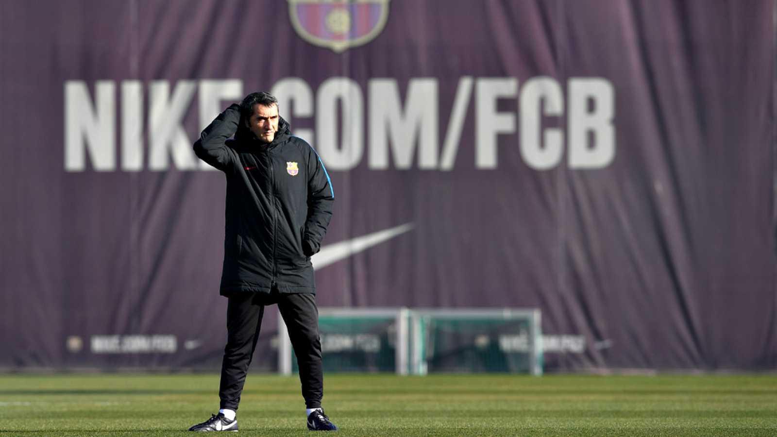 Valverde da fiesta a la plantilla del Barça hasta el día 2 de enero ...