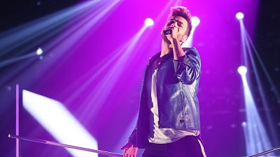 Operación Triunfo 2017 - Agoney canta 'Without you' en la Gala 9 de OT