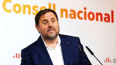El Supremo mantiene a Junqueras en la cárcel porque no le consta el abandono de la unilateralidad y puede reincidir