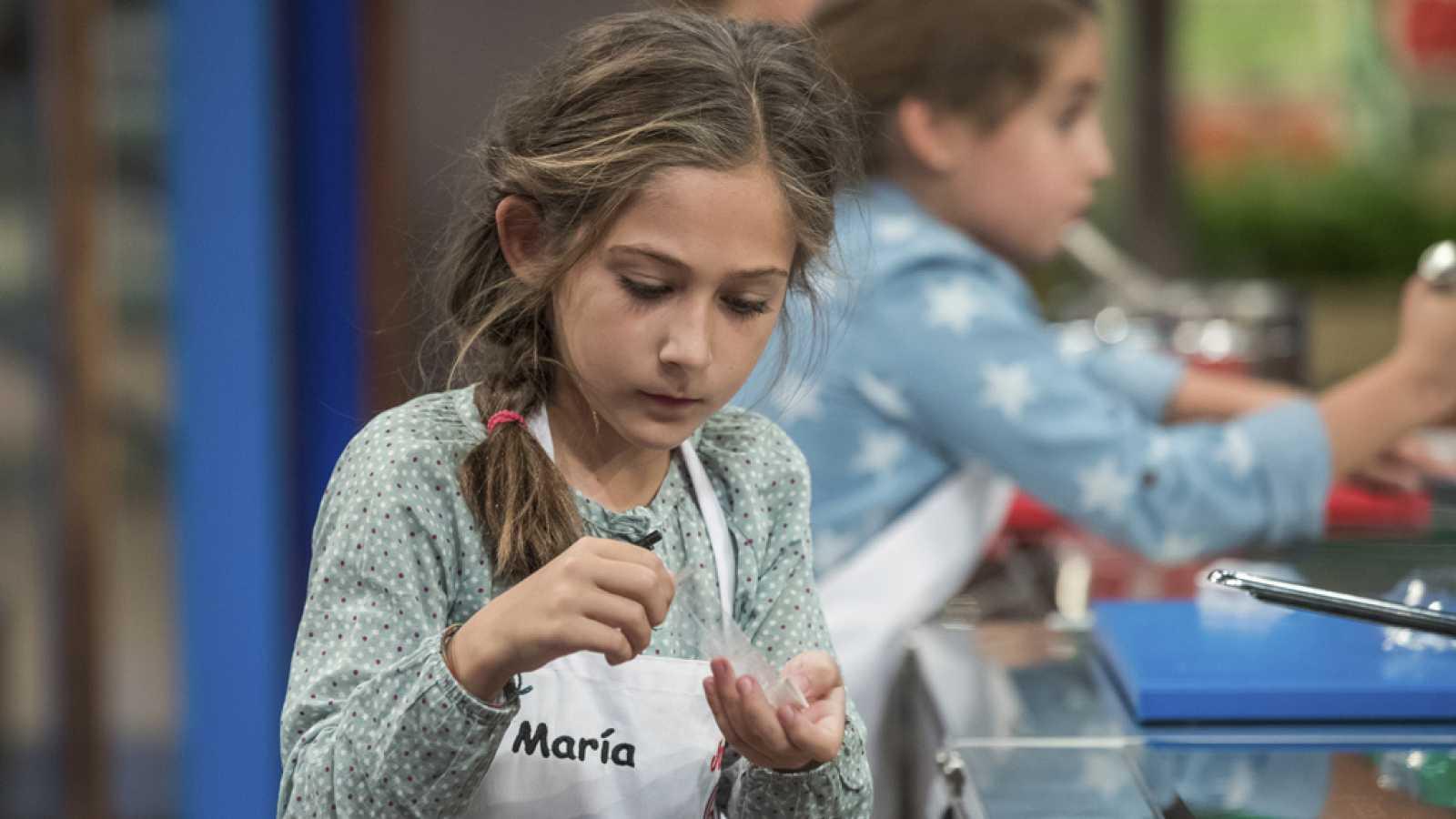 María se derrumba ante la presión de la primera prueba - RTVE.es