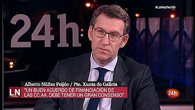 """Núñez Feijóo descarta ser candidato a la Moncloa si Rajoy no repite: """"Mi contrato con los gallegos acaba en 2020"""""""