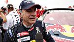 """Carlos Sainz: """"Ha sido el Dakar más duro de todos los que he corrido"""""""