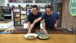 Torres en la cocina - Macarrones de borraja y corvina en escabeche