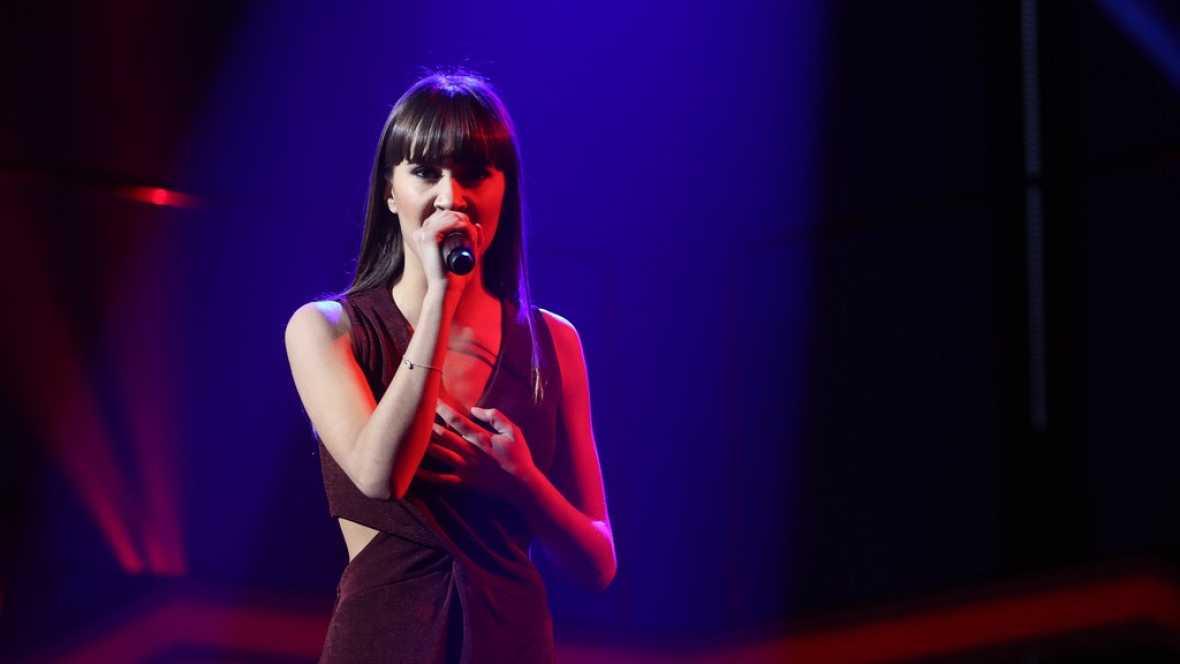 Aitana canta 'Arde' en la Gala Eurovisión de OT
