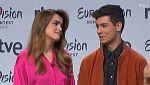 """Eurovisión 2018 - Alfred: """"Estando con Amaia me da igual el escenario y todo"""""""