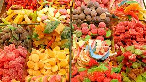 Comida al descubierto: Marisco, comer verdura y gominolas