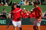 Feliciano y Carreño, satisfechos tras su primer partido de dobles