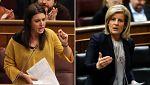 Báñez y Montero se enzarzan por la brecha salarial