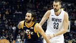 Ricky lidera a los Jazz sobre los Grizzlies; Willy, a Charlotte