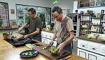 Torres en la cocina - Coles de Bruselas y civet de jabalí