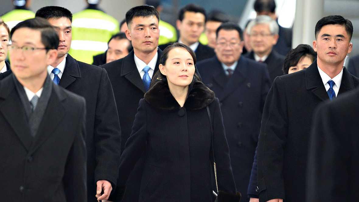 La hermana menor de Kim Jong-un viaja a Corea del Sur en la delegación norcoreana para los Juegos Olímpicos de Invierno