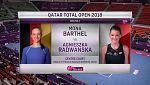 Tenis - WTA Torneo Doha (Catar): M.Barthel - A.Radwanska