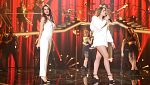 Operación Triunfo -  Ana y Mimi cantan 'Don't you worry about the thing' en la Gala Fiesta de OT