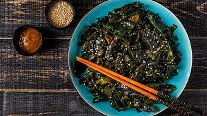 Comida al descubierto: Té, romero y algas