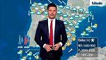 Nubes y precipitaciones en el norte y este peninsular y en Baleares