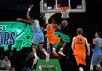 Las promesas de la NBA caen frente a las del Resto del Mundo