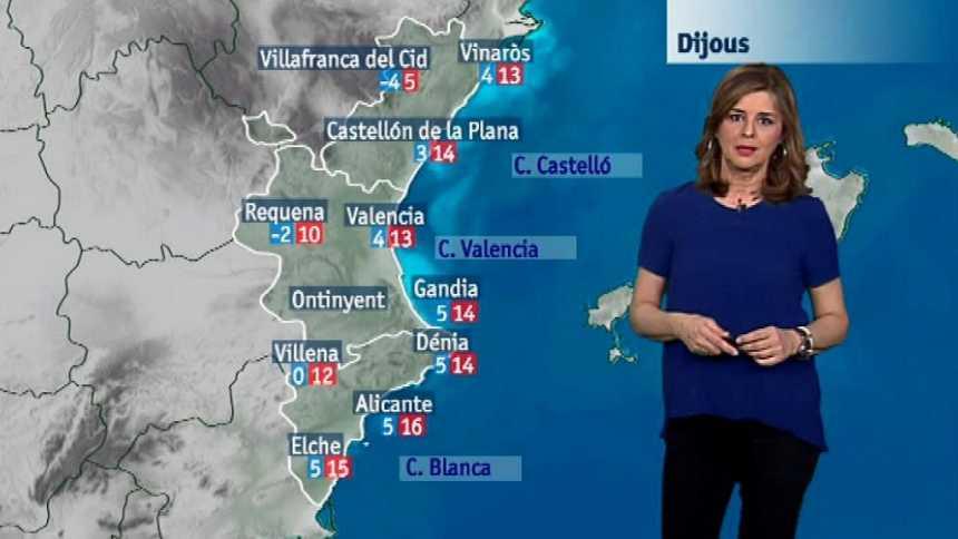 El tiempo en la Comunidad Valenciana - 21/02/18