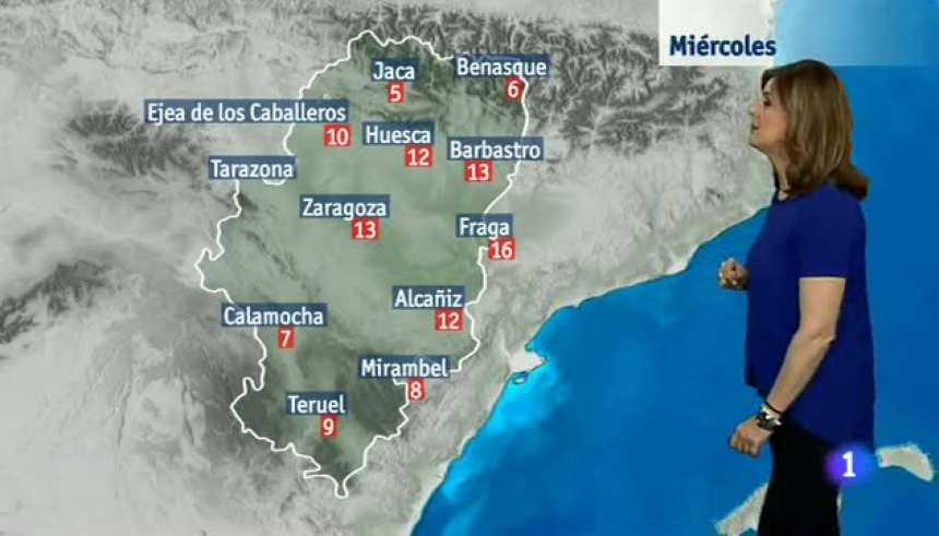 El tiempo en Aragón - 21/02/2018