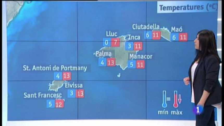 El temps a les Illes Balears - 21/02/18