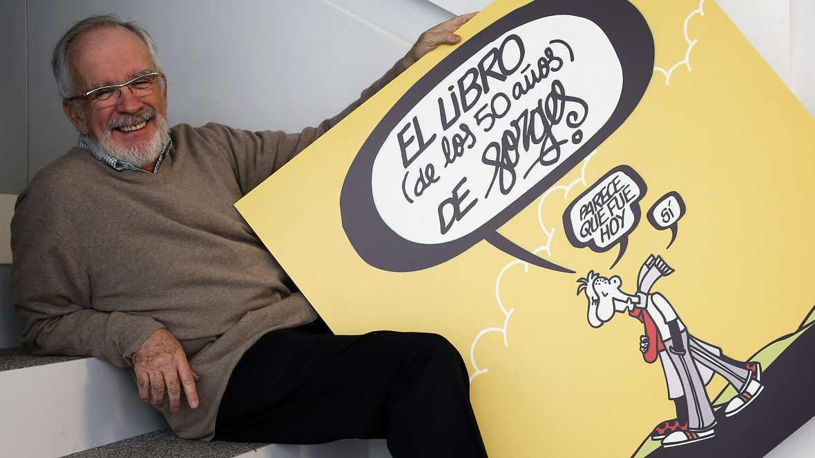Muere el humorista gráfico Antonio Fraguas, Forges