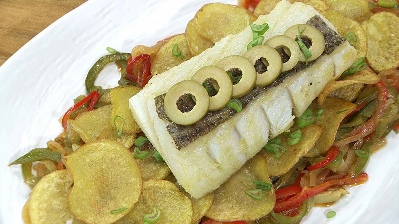 torres en la cocina bacalao con patatas