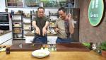 Torres en la cocina - Crema de calabacín y bacalao al horno
