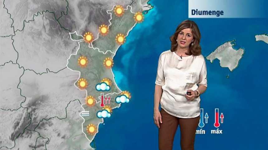 El tiempo en la Comunidad Valenciana - 23/02/18