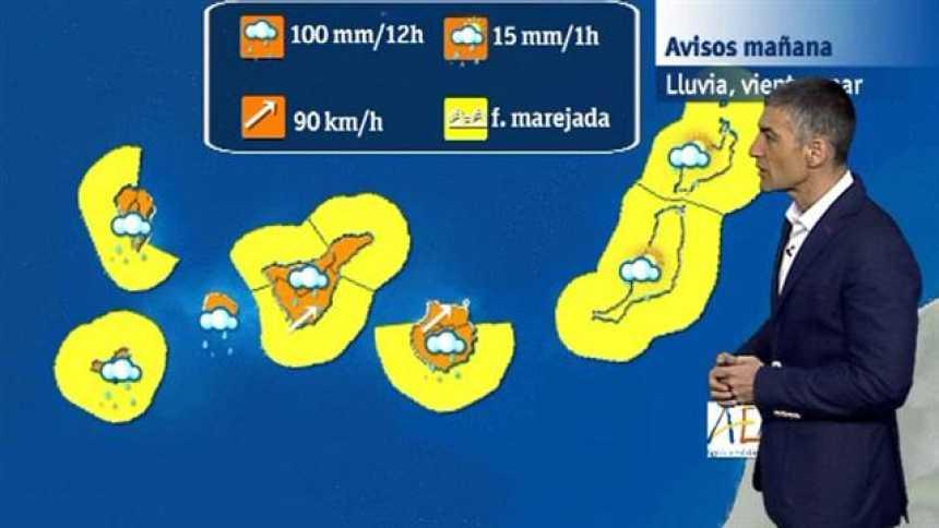 El tiempo en Canarias - 24/02/2018