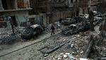 Los bombardeos continúan en Guta Oriental pese a la tregua aprobada en la ONU