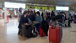 El temporal en Canarias incomunica a Tenerife durante dos horas y afecta a más de 70 vuelos