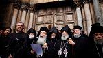 El Santo Sepulcro en Jerusalén está cerrado y permanecerá así de manera indefinida