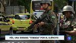 Primera semana de la intervención militar de Río de Janeiro para terminar con la violencia