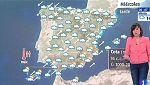 Este miércoles, habrá lluvias generalizadas y nevadas en el interior tercio norte y centro
