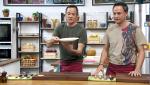 Torres en la cocina - Sopa de parmesano y bacalao al pil-pil