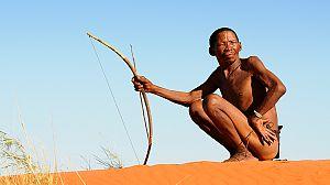 Las tribus y yo: el pueblo león del Kalahari