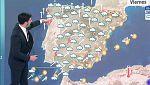 Este viernes, nieve en el norte de Castilla y León y lluvias fuertes en Cádiz