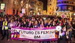 Los políticos celebraron a su modo el Día de la Mujer, pero no todos respaldaron la huelga
