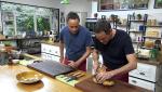 Torres en la cocina - Alcachofas café de París y pollo con langostinos