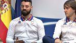 """Jon Santacana y Miguel Galindo: """"Vamos a PyeongChang a poner el broche de oro"""""""