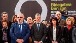 """Urkullu proclama solemne que el sufrimiento de las víctimas de ETA """"fue injusto"""""""